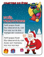 Comptine de Poni-Noel-Traditions