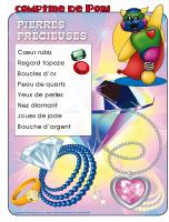 Comptine de Poni-Pierres précieuses