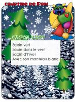 Comptine de Poni-Sapin vert