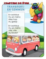 Comptine de Poni-Transport en commun