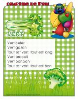 Comptine de Poni-Vert