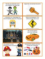 Consignes de sécurité-Halloween