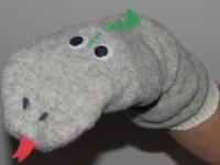 Coquette marionnette en chaussette-2