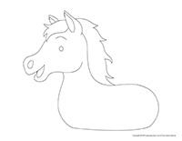 Corps de cheval