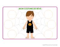 Costume d'Halloween de rêve-2