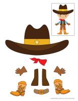 Cowboy à assembler-2