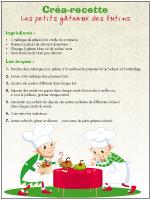Créa-recette-Les petits gâteaux des lutins