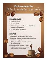Créa-recette-Pâte à modeler au café