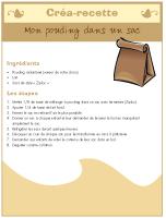 Créa-recette-Pouding dans un sac