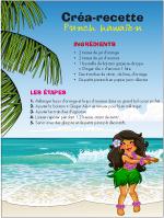 Créa recette-Punch hawaïen