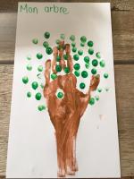 Des bricolages avec les mains-4