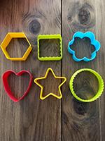 Des emporte-pieces colores utilises autrement-3