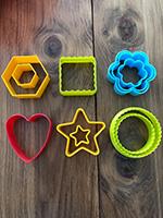 Des emporte-pieces colores utilises autrement-4