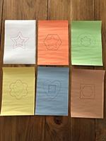 Des emporte-pieces colores utilises autrement-5