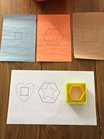 Des emporte-pieces colores utilises autrement-7