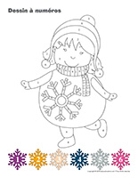 Dessin à Numéros-Carnaval d'hiver