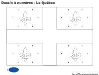 Dessin à Numéros-Le Québec