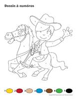 Dessin à Numéros-Les westerns