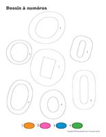 Dessin à Numéros-Lettre O