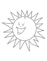 Dessin soleil