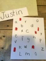 Différentes idées d'activités pour apprendre à écrire son nom-6