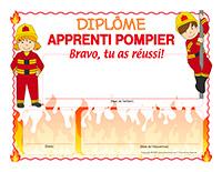 Diplôme apprenti-pompier