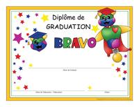 Diplôme de graduation