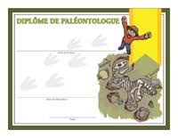 Diplôme de paléontologue-2