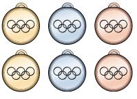 Diplômes et médailles olympiades