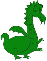Dragon à lacer