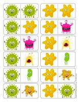 Éduc-Dominos-Les microbes