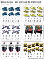 Éduc-Math - Les moyens de transport