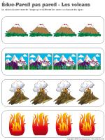Éduc-Pareil-pas-pareil - Les volcans