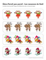 Éduc-Pareil pas pareil-Les vacances de Noël