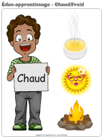 Éduc-apprentissage-Chaud froid