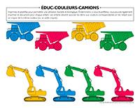 Éduc-couleurs-Camions