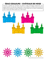 Éduc-couleurs-Châteaux de neige