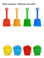 Éduc-couleurs-Châteaux de sable
