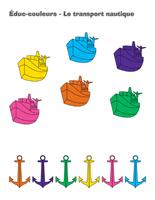 Éduc-couleurs-Le transport nautique