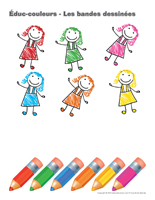 Éduc-couleurs-Les bandes dessinées