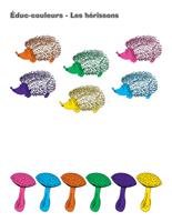 Éduc-couleurs-Les hérissons
