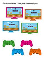 Éduc-couleurs-Les jeux électroniques