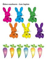 Éduc-couleurs-Les lapins