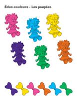 Éduc-couleurs-Les poupées