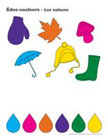 Éduc-couleurs-Les saisons