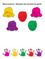 Éduc-couleurs-Semaine des services de garde 2015