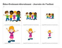 Éduc-croissant décroissant-Journée de l'enfant