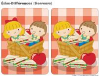 Éduc-différences - Piqueniques
