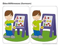 Éduc-différences-Autocollants