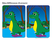 Éduc-différences-Les crocodiles